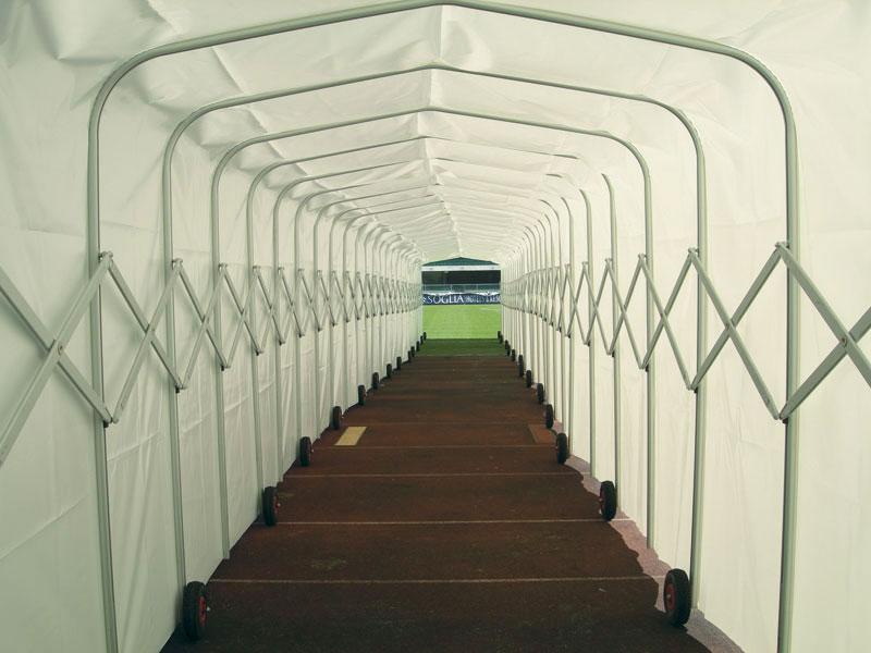 Tunnel retrattile Tedesco s.r.l.
